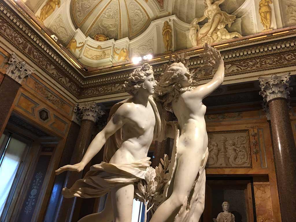 Tour pela Galeria Borghese